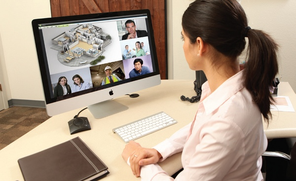 Desktop Videokonferenz Frankfurt